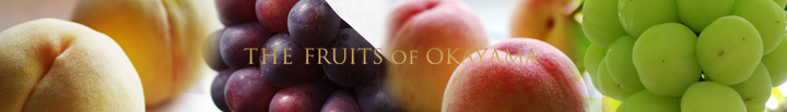 Finest quality fruits are waiting for you, here at sun-filled Okayama.